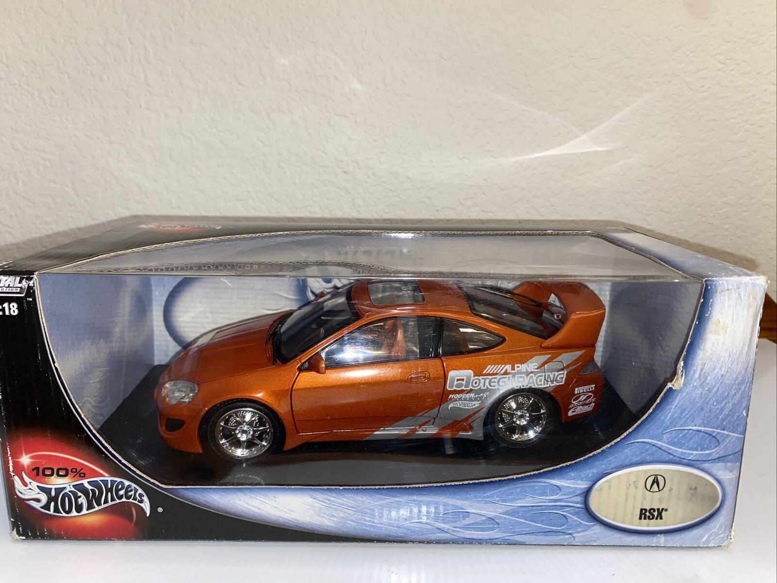 Hot Wheels 1 18 Blue Honda Acura Rsx Die Cast Metal Xxl Tuners Mp3 Super Street For Sale Online Ebay