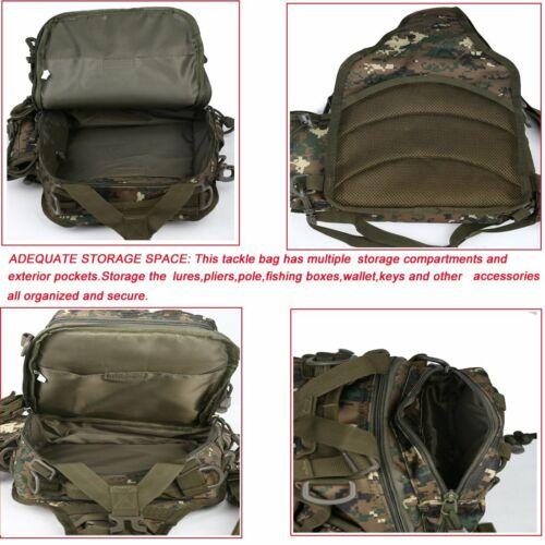 Blisswill Outdoor Tackle Bag Multifonctionnel résistant à l/'eau Pêche Sac unique