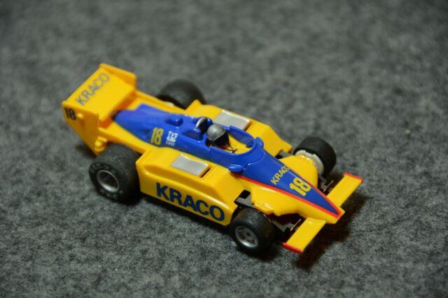 TYCO - F1/Indy Car - #18 Magnum 440-X2 KRACO - HO Slot Car