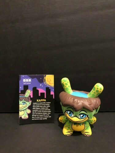 "Kidrobot CITY CRYPTID Dunny Series KAPPA 3/"" Figure Scott Tolleson"