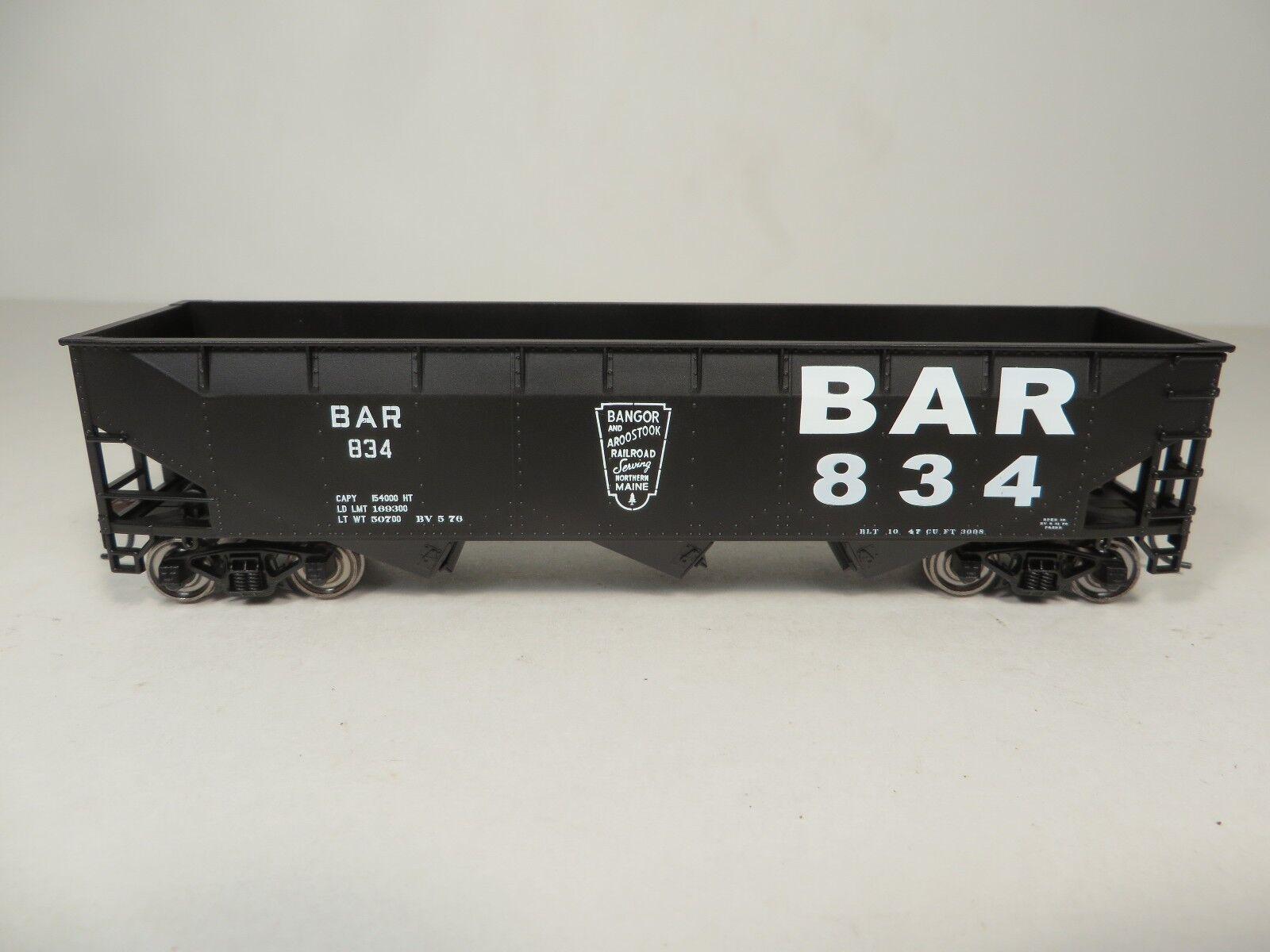 Bowser BAR  70-Ton 3 Bay Hopper Cars   3 car set / 3 car  's  R-T-R  NIB