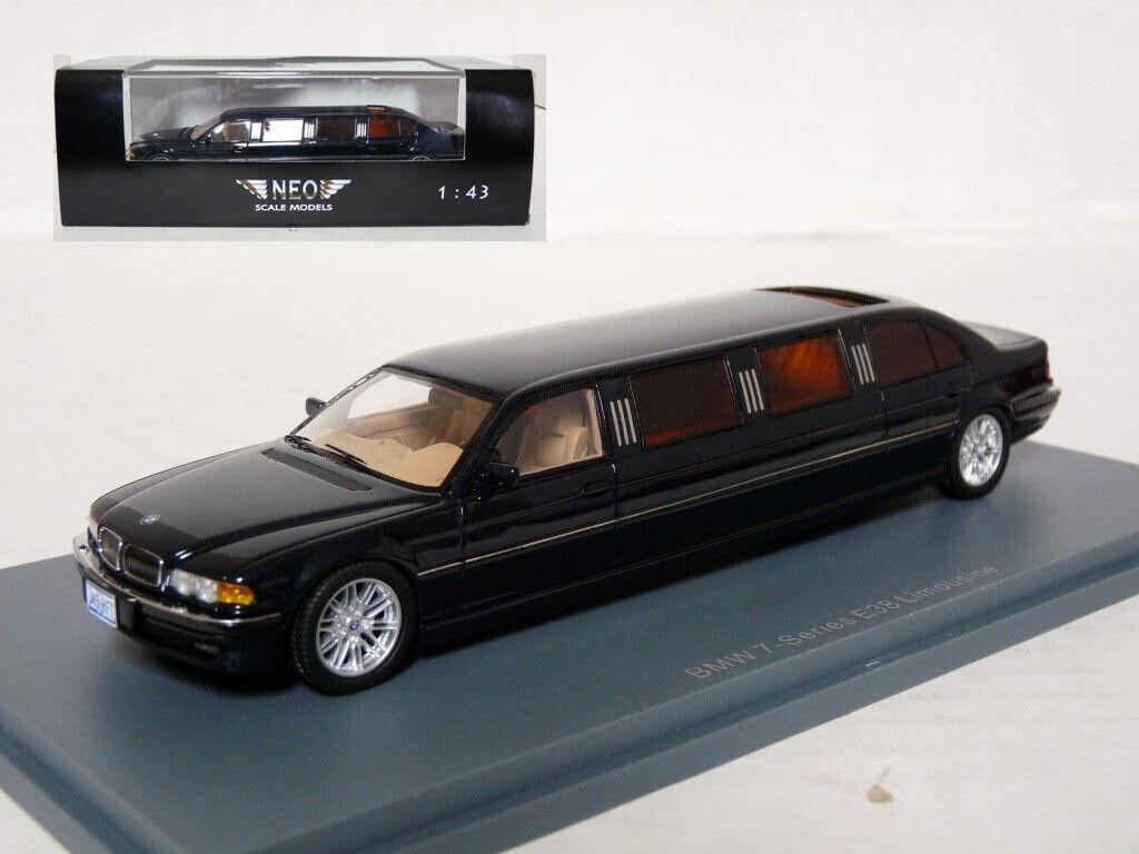 NEO 45345 1 43 2000 BMW E38 740d Limousine Résine Voiture Modèle