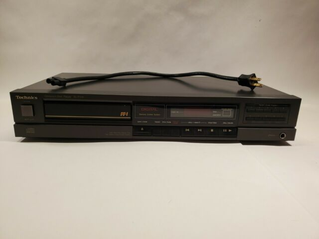 Vintage Technics Compact Disc CD Player SL-P310 Tested Working