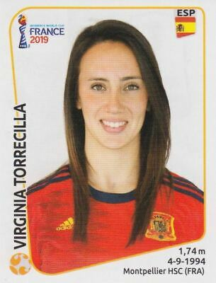 Spanien Panini Frauen WM 2019 Sticker 142 Marta Torrejon