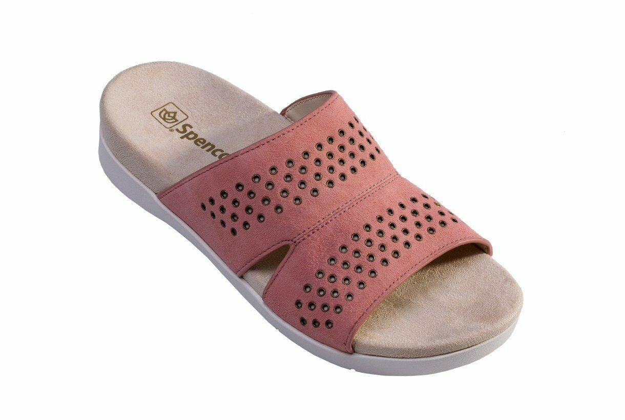 Spenco Twilight Stud Women's Comfort Sandal Pale Blush - 11 Wide