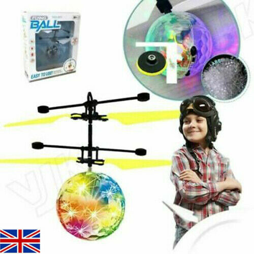 Toys for Kids Flying Ball Cool Toy LED 3 4 5 6 7 8 9 10 11year Old Age Xmas Boys