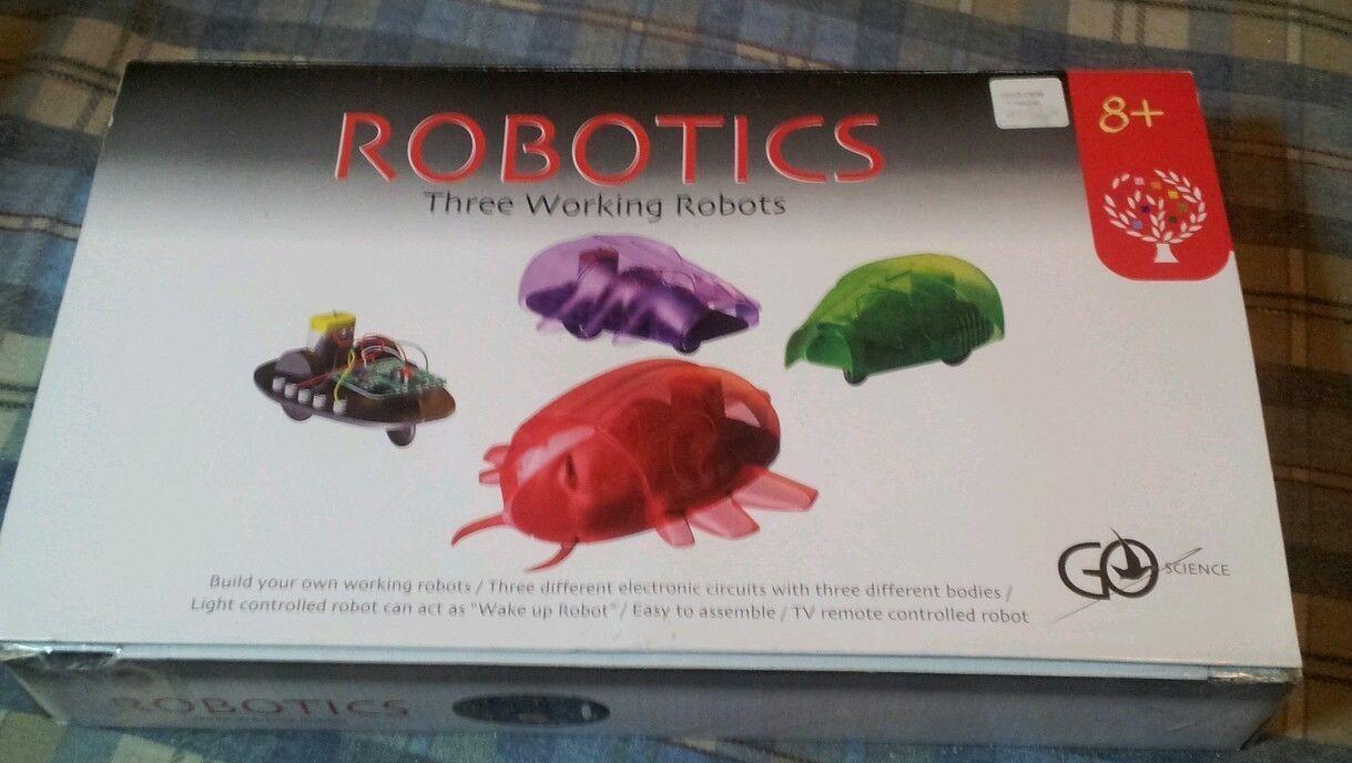 Elenco EDU7090 Tree Of Knowledge Robotic learning kit GO SCIENCE 3 robots 1 kit