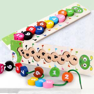 Wooden-Baby-Toddler-Toys-Activity-Montessori-Sensory-Threading-Mathematics-Toy