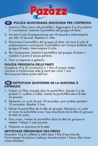 Pazazz Café résidu Remover lavables Nettoyant Machine Expresso tête de groupe