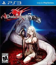 Drakengard 3 [PlayStation 3 PS3, Square Enix, Action RPG Combat] NEW