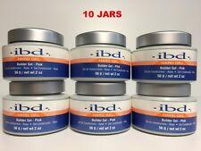 10 PACKS - IBD Builder Gel UV PINK - 2oz / 56g - Strong UV Gel
