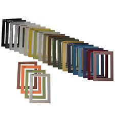 Picture Framing Mats 4x6 For 3x5 Small Wallet Size Photo One Black