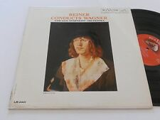 WAGNER NM FRITZ REINER conducts CSO LM-2441 Chicago Symphony Orchestra MONO