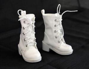 1//4 bjd msd boy kate wiggs Myou doll black combat boots shoes dollfie S131S