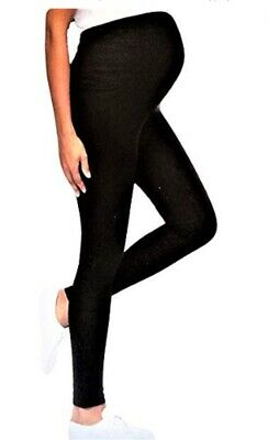 Leggings Vêtements de Maternité Grossesse Noir Meritex Extensible | eBay