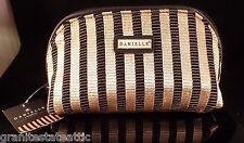 Danielle Makeup Essentials Cosmetics Bag Purse Black Gold Free Shipping