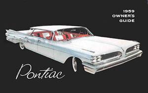 1957 Pontiac Owners Manual 57 owner Bonneville Chieftain Star Chief Safari