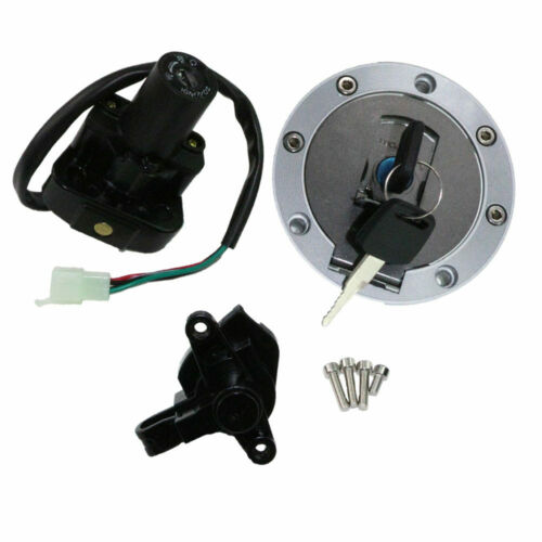 Ignition Switch Cap Seat Lock Cover Set 2Key For Yamaha YZF600R YZF1000R US