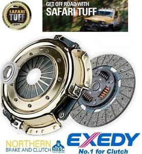 EXEDY-SAFARI-TUFF-CLUTCH-KIT-suits-TOYOTA-LANDCRUISER-HJ75R-4-0L-2H-1984-90