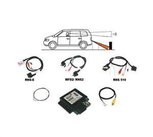 VW-Bora-Golf-Plus-Lupo-Multivan-t5-Caddy-mfd2-MFD-2-Camera-de-recul-RFK-Interface