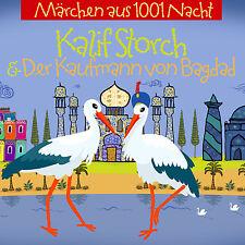 Märchen Hörbuch CD Kalif Storch und Der Kaufmann aus Bagdad