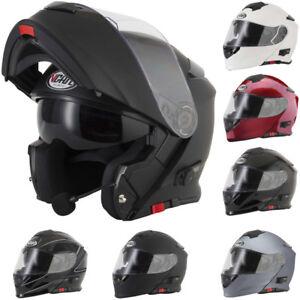 V-CAN-V271-Bluetooth-Casque-Moto-Casque-Modulables-Pare-soleil-integre