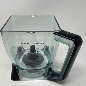 Details about Ninja Kitchen System 1200 Processor Bowl Pitcher Square 40 Oz  BL700
