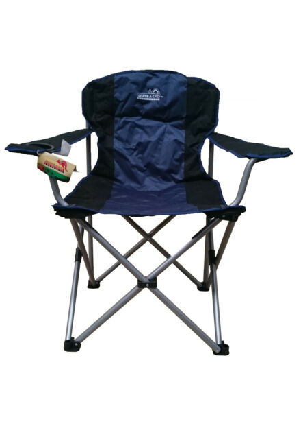 Super Outback Big Man Folding Camping Chair 150 Kg Very Comfortable Strong Picnic Camp Dailytribune Chair Design For Home Dailytribuneorg