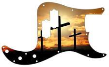 P Bass Precision Pickguard Custom Fender 13 Hole Guitar Pick Guard Three Cross 2