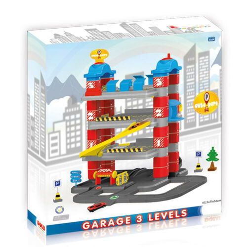 Dolu Kids 4 niveau sol garage parking jeu de rôle 2 Die Cast Véhicule Set Fun