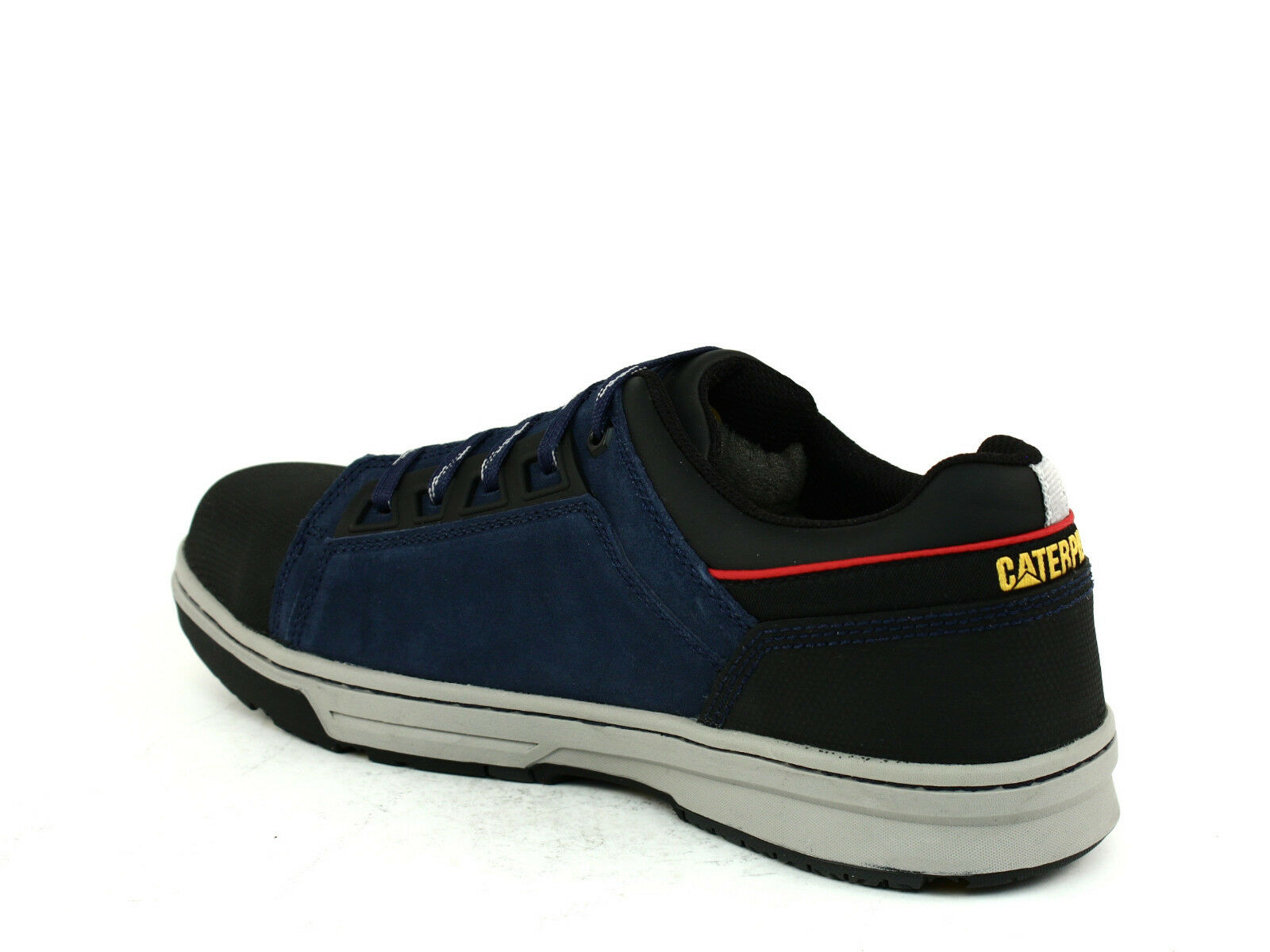 Caterpillar CONCAVE LO ST Steel Toe  Uomo Work Schuhes Athletic Navy Leder Suede Schuhes Work dd05b7