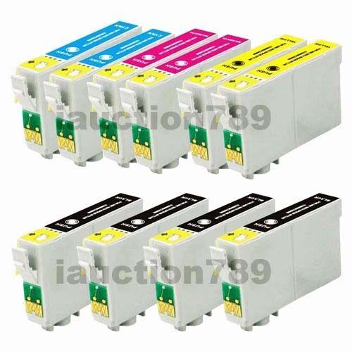 10x Ink Cartridges 200XL for XP-310 XP-410 WorkForce WF 2510 2540 Printer
