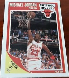 238a742e6d8 1989 Fleer Michael Jordan  21 Basketball Card for sale online