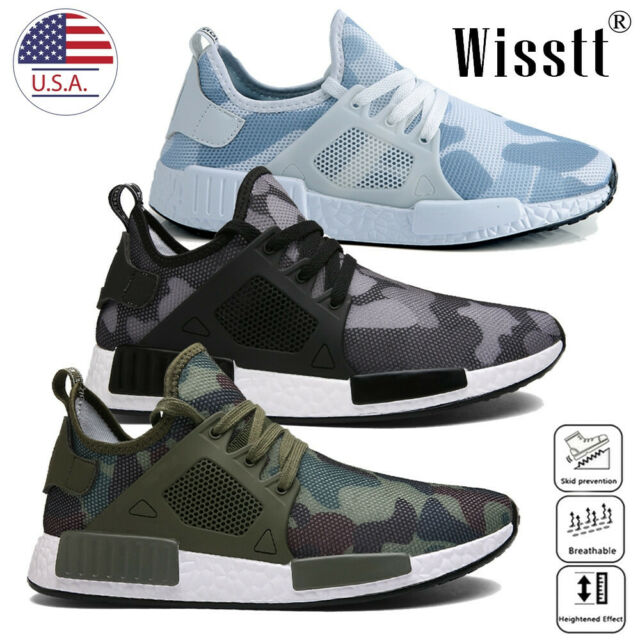 Athletic Men's Casual Lightweight Shoes Running Sports Breathable Mesh Sneakers 1cJlFK