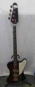 ORVILLE Thunderbird G104696 Electric Bass With Hard Case Ships Safely From Japan