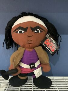 The Walking Dead Michonne Plush Soft Doll Skybound Peek A Boo Toys Series One