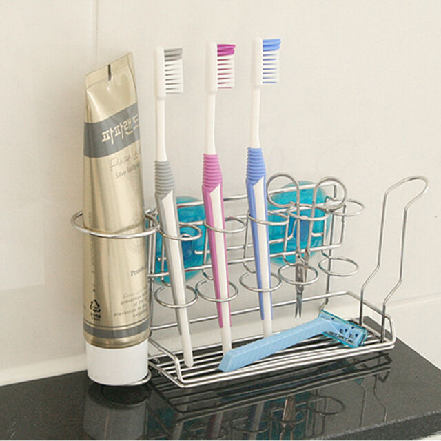 3 Sets Of Household Bathroom Toothbrush Suction Cup Holder Wall Mount Rack