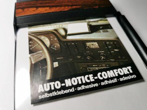 HR-IMOTION Auto KFZ Zettelhalter Notizzettel Notizblock woodline zum ankleben