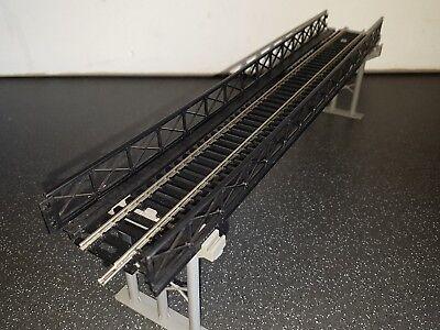 Hornby Oo Girder Bridge With Girder Sidewalls And Footpath. Nickel Silver Track Ampia Fornitura E Consegna Rapida