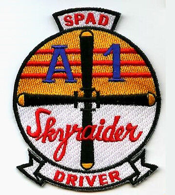 NAM ERA US AIR FORCE DOUGLAS A-1 SKYRAIDER SPAD SANDY DRIVER SKYRAIDER INSIGNIA