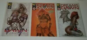 Dreams-of-Dawn-As-Deep-As-3-COMIC-LOT-Wizard-Variant-with-CoA-Linsner-NM