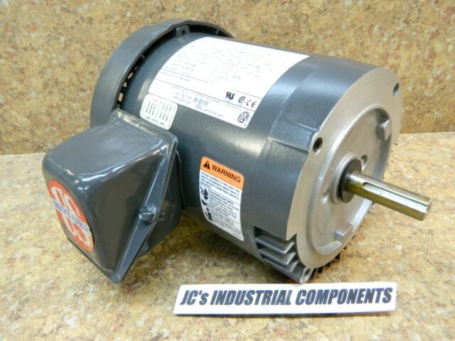 208-230//460V POLYPHASE P63BSB-3081 NEW 1725 RPM US MOTORS D34S2A Motor 3//4 HP