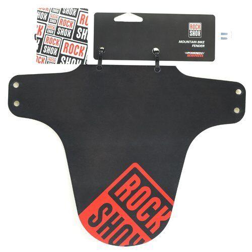 RockShox MTB Fender Front Fork Mudguard Black//Oxy Red