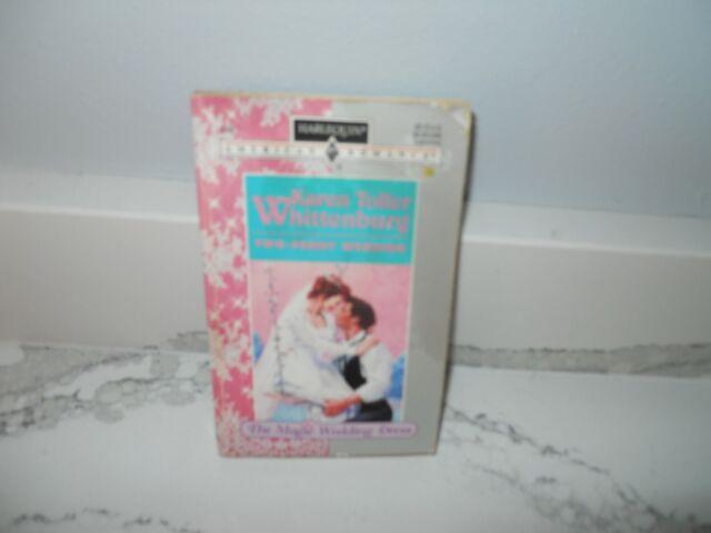 Two-Penny Wedding Karen Whittenburg Harlequin Romance Novels Fiction Books Book