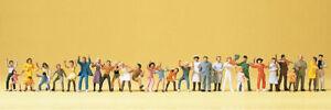 DéSintéRessé Preiser 14414 Fête Visiteurs 30 Personnages Ho Neuf-her 30 Figuren Ho Neu Fr-fr Afficher Le Titre D'origine MatéRiau SéLectionné