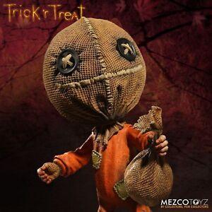 Mezco-Trick-039-R-Treat-Sam-6-034-stilisierte-Vinyl-Figur-Inc-LOLLIPOP-amp-Sack