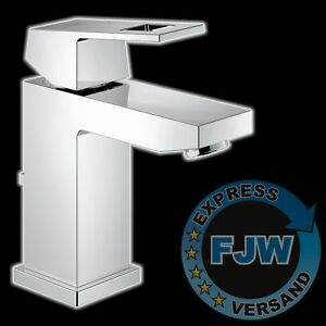 grohe eurocube waschtisch armatur 23127 23127000 wasserhahn bad waschbecken ebay. Black Bedroom Furniture Sets. Home Design Ideas