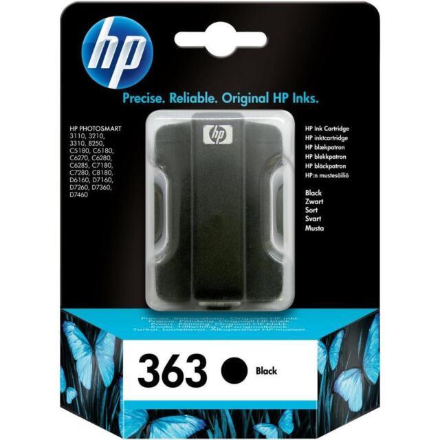 HP 363 schwarz C8721E PHOTOSMART 3110 3210 3310 8250 C5180 --------- OVP 05/2016