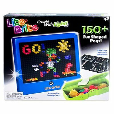 Lite Brite Set Classic Toy By Hasbro NEW in box 1786