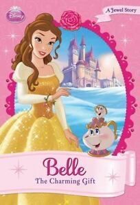 Image Is Loading Belle The Charming Gift Disney Princess Chapter Book